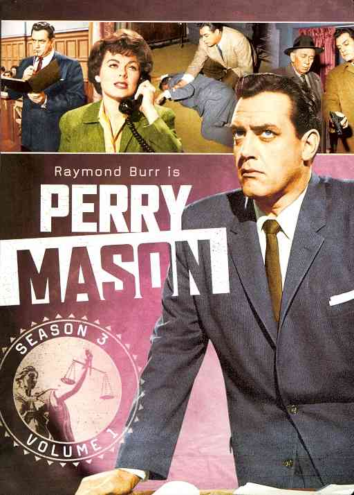 PERRY MASON:THIRD SEASON VOL 1 BY PERRY MASON (DVD)